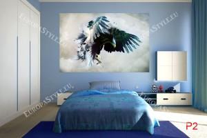 Фототапети орел рисуван