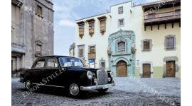 Фототапет класически модел Мерцедес ретро автомобил