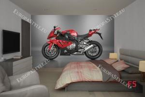 Фототапети спортен мотор в червено