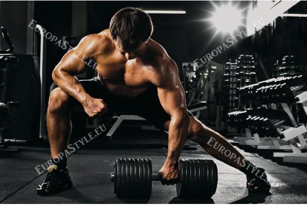 Фототапет мъж във фитнеса