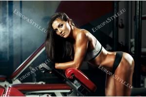 Фототапети жена във фитнеса
