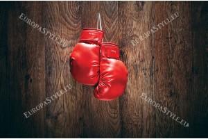 Фототапет червени боксови ръкавици