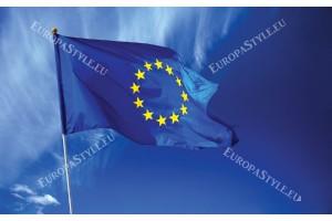 Фототапети европейското знаме флаг син