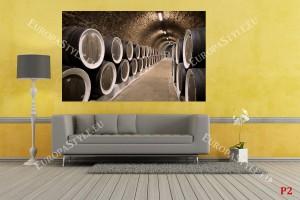 Фототапети винарска изба , бъчви