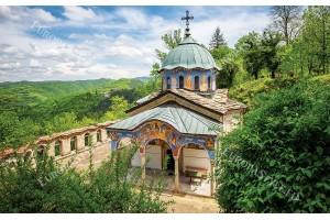 Фототапети прекрасен изглед на Соколския манастир