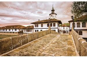Фототапети прекрасен изглед от град Трявна
