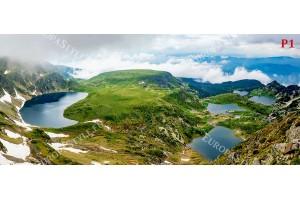 Фототапети изглед от рила седемте рилски езера