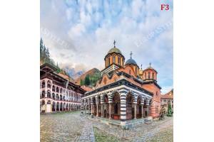 Фототапет панорамен изглед от България -Рилски манастир
