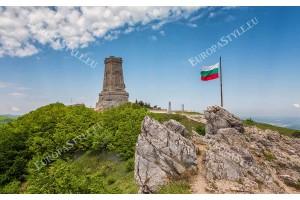 Фототапет перфектен изглед на връх Шипка - паметник