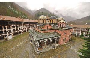 Фототапет изглед Рилa манастир България