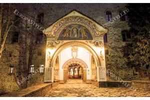 Фототапет Рилският манастир централен вход