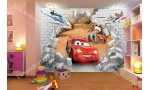 детски фототапет маккуин колите тухлена стена