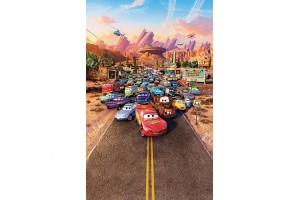 Фототапет с всички автомобили от филм колите
