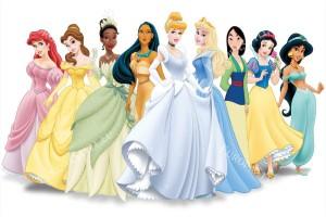 Фототапети детски модел с принцесите на дисни