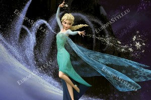 Фототапети красивата принцеса Елза