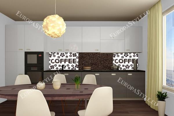 Фотопринт за кухня принт кафе и цветя колаж