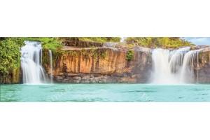 Фототапети макси размер красиви водопади и езеро