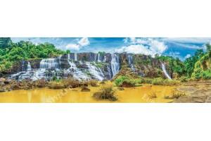 цветен екзотичен водопад макси размер
