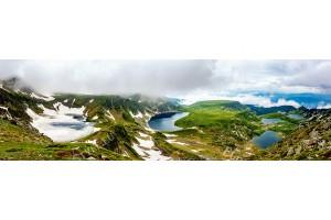 maxi панорама изглед от рила седемте рилски езера