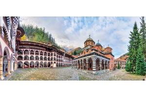 Фототапети макси панорамен изглед от България -Рилски манастир