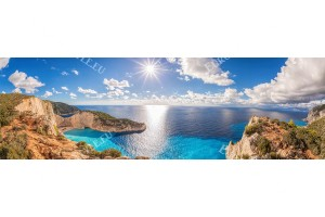 Фототапет макси размер морски пейзаж с остров закинтос